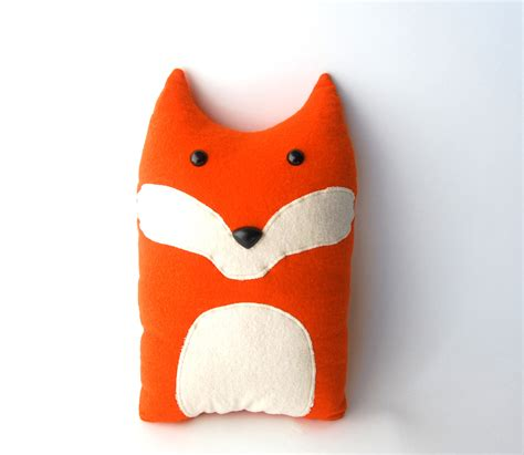Stuffed Pillow by Fox Woodland Forest Plush Stuffed Animal Pillow Oliver
