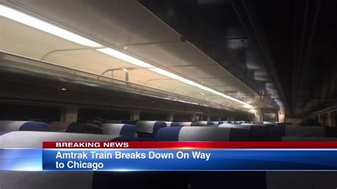 are there bathrooms on amtrak trains amtrak train breaks down on way to chicago near pleasant prairie wisconsin