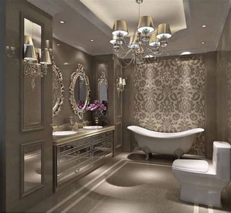 glam bathroom 1000 ideas about bathroom chandelier on pinterest