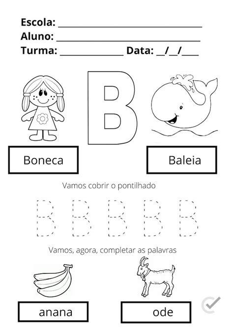 45 Atividades de alfabetização para imprimir [em PDF]