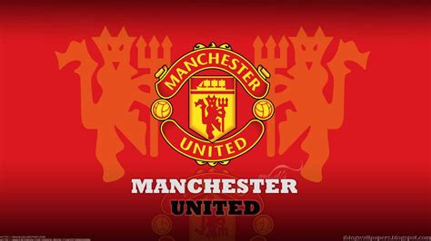 wallpaper hd manchester united manchester united logo wallpapers collection 1 free