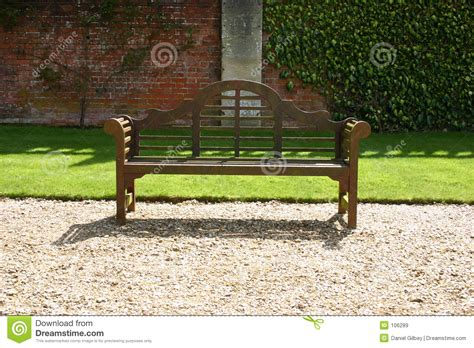 park bench cost park bench stock image image of shadow gravel wood