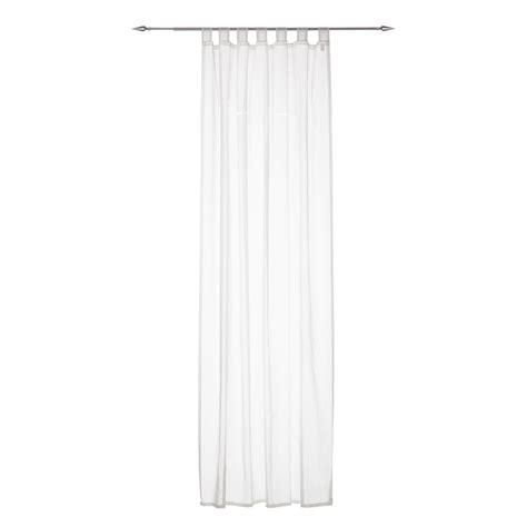 vorhang halbtransparent schlaufenschal lochstickerei gardine vorhang wei 223