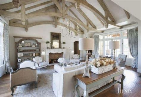 ideas de estilo french country  tu sala de estar