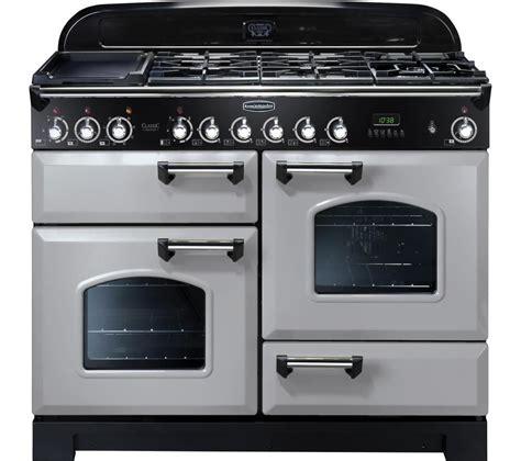 chrome range buy rangemaster classic deluxe 110 dual fuel range cooker
