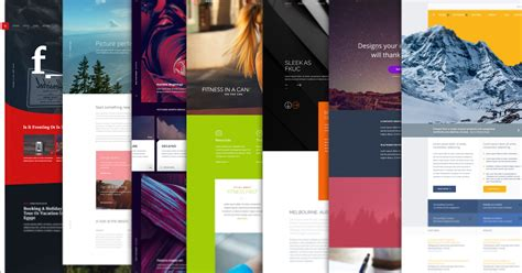10 free psd website templates to get any design project