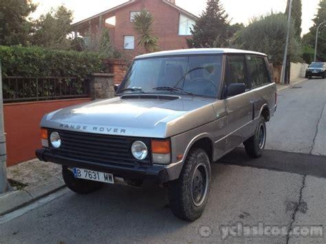 range rover 1992 vendo range rover 1992 portal compra venta veh 237 culos