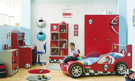 car bedroom cars kids beds decorating design