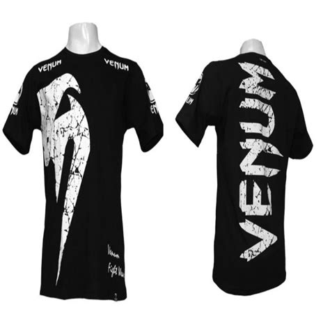 Venum Fight Team Shirt Black venum mma shorts clothing musado martial arts warrior spirit martial arts equipment