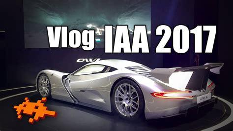 Auto Messe Frankfurt by Videolog Iaa 2017 Auto Messe In Frankfurt Youtube