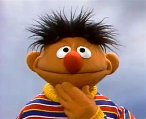 berts blanket sesame best quality version ernie through the years muppet wiki