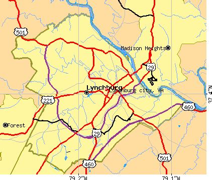 map of lynchburg virginia lynchburg virginia map swimnova