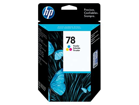 Tinta Hp 78 cartucho original de tinta tricolor hp 78 c6578dl hp