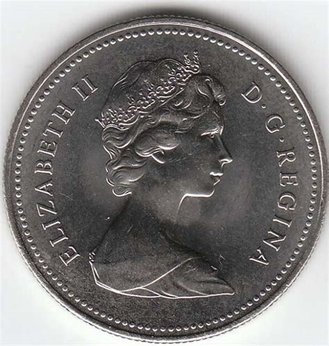 50 cent coin value value of 1965 canadian 50 cent coin