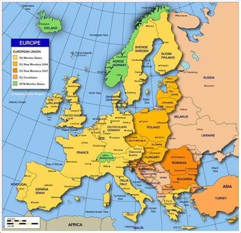 map of european continent continents earthcontinents