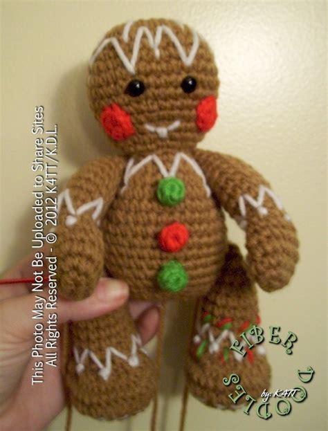 crochet pattern gingerbread man free gingerbread man pattern crochet for christmas