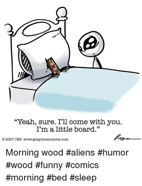 Morning Wood Meme - yeah sure i ll come with you i m a little board o 2017 ces