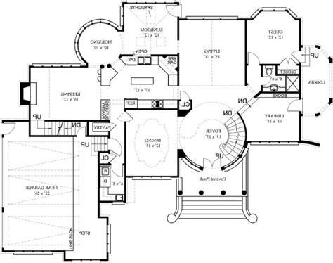 luxury mansion floor plans