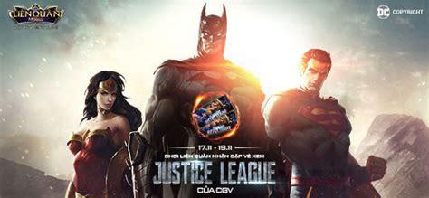 cgv qu n 9 cơ hội nhận miễn ph 205 voucher cgv xem phim justice league
