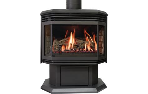 Free Standing Gas Fireplace by Archgard Gas Free Standing Country Fireplace