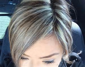hightlight salt and pepper hair 1000 ideas about gray highlights on pinterest silver