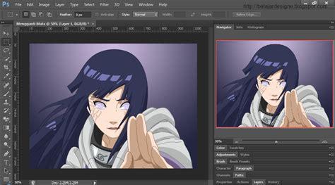 tutorial gambar hinata tutorial mengganti mata di photoshop my designe