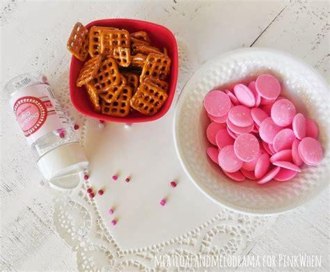 valentines day pretzels s day pretzel treats pinkwhen