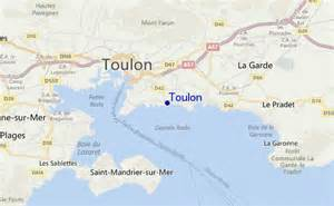 Toulon France Map by Toulon Golfvoorspellingen En Surfberichten Mediterranean