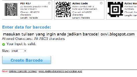 cara membuat barcode nama cara membuat barcode sendiri apung arul