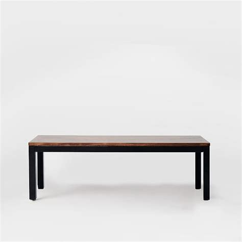 metal and wood benches metal wood benches west elm