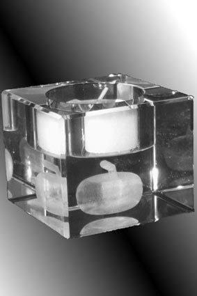 3d kerzenhalter kerzenhalter teelicht 3d innenglasgravur lasergravur