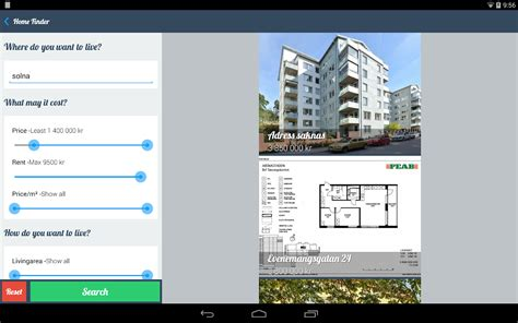 home finder hitta bostad android apps on play