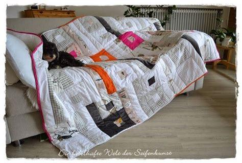 kopfkissen und decke decke aus kopfkissen laken und stoffresten quilt made