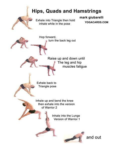 Tone thighs yoga fitness exercises with quadricep