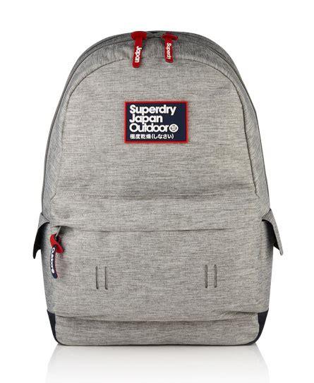 Tas Superdry Surplus Goods Backpack 1 mens marl montana rucksack in light grey marl