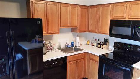 kitchen  java gel stain  high performance top coat
