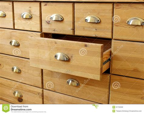 Chest Of Drawer Handles by Wooden Antique Chest Of Drawers With Metal Handles Royalty Free Stock Images Image 31733309