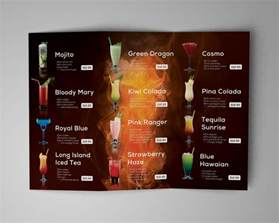 drinks menu template 28 drink menu templates free sle exle format
