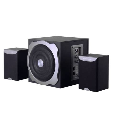 Home Theater Multimedia Nvc buy f d a520 2 1 multimedia speakers black at