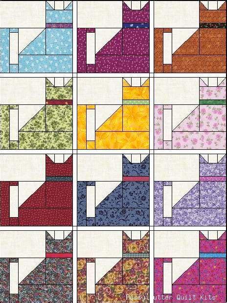 quilt pattern cat 130 best images about quilt blocks animals on pinterest