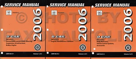 2006 cadillac sts original repair shop manual 3 volume set 2006 cadillac cts repair shop manual 3 volume set original