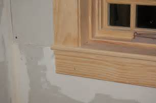 interior window sill styles craftsman ish window casing by bensaw lumberjocks
