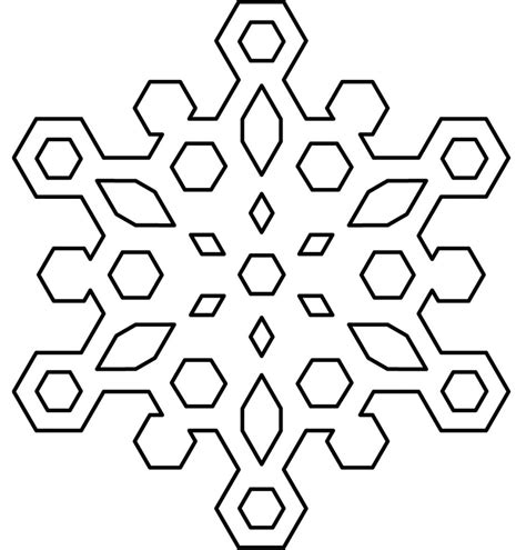 snowflake pattern to color free printable snowflake coloring pages for kids