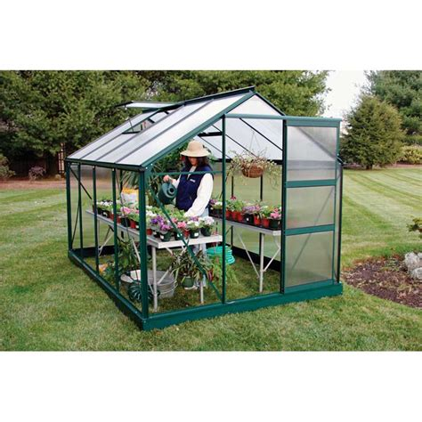 growspan estate hobby small greenhouse 7 2 quot w x 6 3 quot h x 9