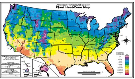 growing zone map sunset hardiness zone map
