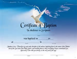 printable baptism certificates party invitations ideas