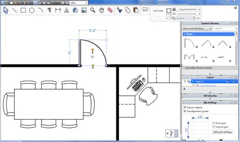 easy 2d architectural design software project cooper for windows 2009 freeware download