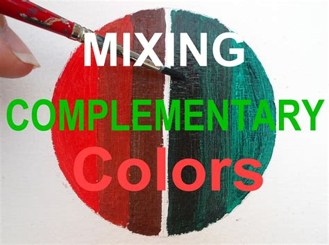 what is reds complementary color painting for beginners mix complementary colors