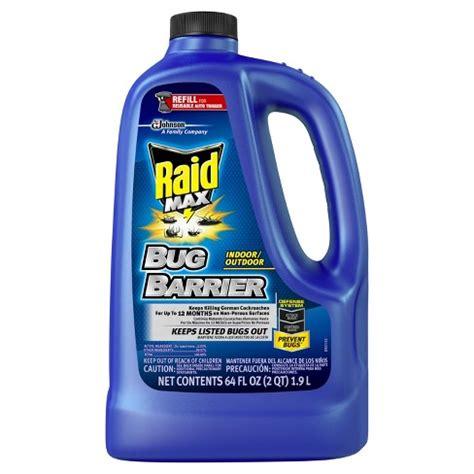 raid bug barrier refill  fl oz target