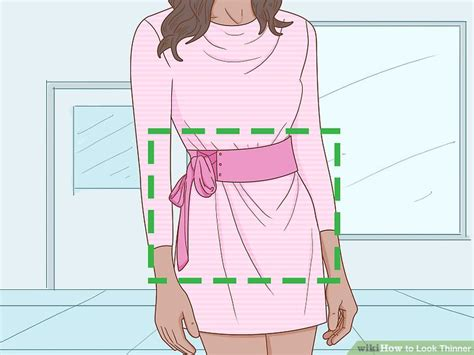 what pattern makes you look thinner how to look thinner 15 steps with pictures wikihow